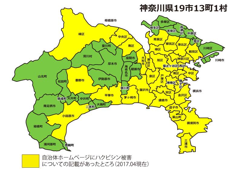 神奈川県ハクビシン被害